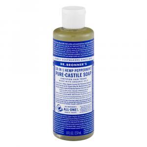 Dr. Bronner's Organic Castile Peppermint Liquid Soap