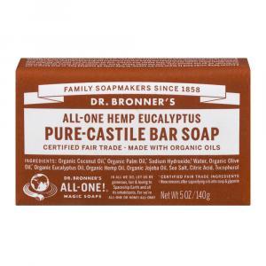 Dr. Bronner's Organic Eucalyptus Bar Soap