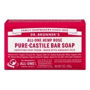 Dr. Bronner's Organic Rose Bar Soap