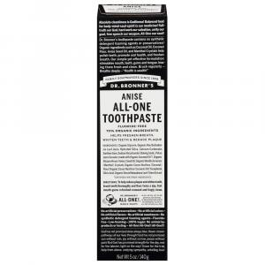 Dr. Bronner's All-One Toothpaste Anise