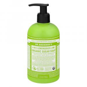 Dr. Bronner's Sugar Lemongrass Organic Pump Soap