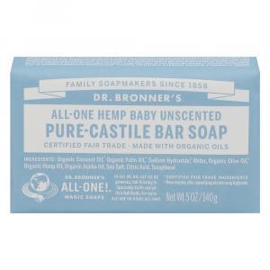 Dr. Bronner's Organic Mild Baby Bar Soap