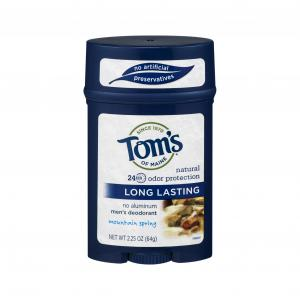 Tom's of Maine Long Lasting Men's Mountain Spring Deodorant