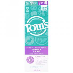 Tom's Peppermint Whole Care Toothpaste