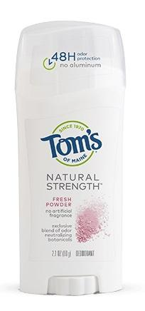 Tom's of Maine Natural Strength Deodorant Fresh Powder