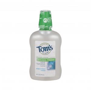Toms Mouthwash Peppermint Wave