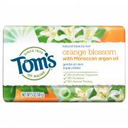 Tom's Orange Blossom With Moroccan Oil Beauty Bar