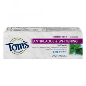 Tom's Anti Plaque Toothpaste Trial