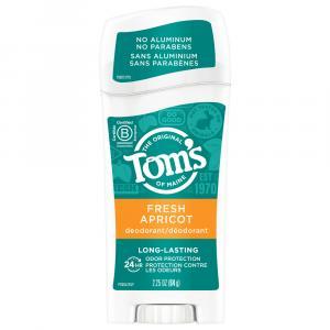 Tom's Apricot Long Lasting Deodorant Stick