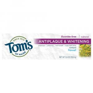 Tom's Fennel Antiplaque Tartar Control+Whitening Toothpaste