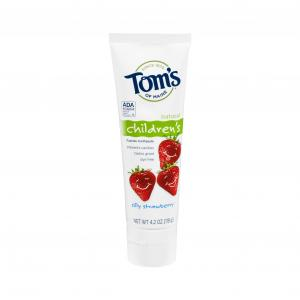 Tom's Silly Strawberry Anticavity Paste