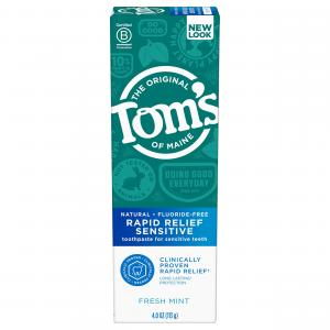 Tom's Rapid Relief Sensitive Tooth Paste