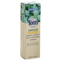 Tom's Tartar Control & Whitening Peppermint Gel
