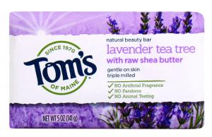 Tom's Lavender Tea Tree Beauty Bar