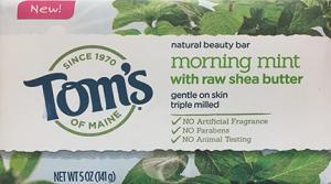 Tom's Morning Mint Beauty Bar