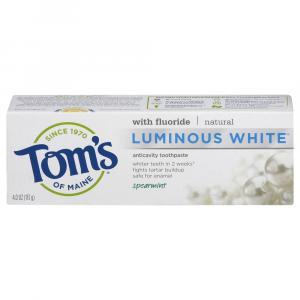 Tom's Luminous White Spearmint Toothpaste