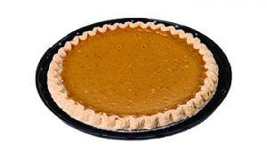 """Prebaked 8"""" No Sugar Added Pumpkin Pie"""