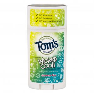 Tom's of Maine Wicked Cool Summer Fun Deodorant for Girls