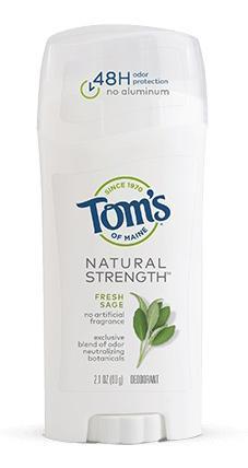 Tom's of Maine Natural Strength Deodorant Fresh Sage