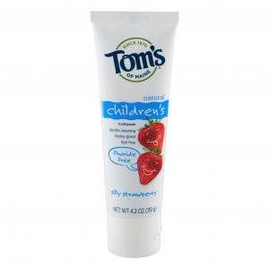 Tom's Silly Strawberry Childrens Toothpaste