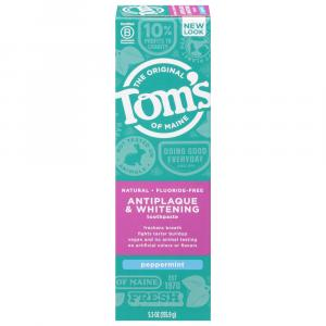 Tom's Peppermint Antiplaque Tartar Control Plus Whitening