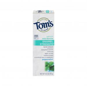 Tom's Of Maine Enamel Strength Peppermint Toothpaste
