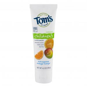 Tom's Children's Outrageous Orange Mango Toothpaste