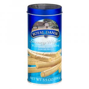 Royal Dansk Luxury Vanilla Wafers