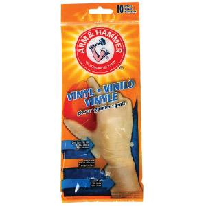 Arm & Hammer Vinyl Gloves One Size Fits All