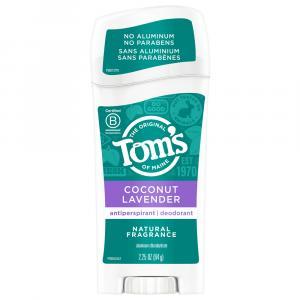 Tom's Of Maine Coconut Lavender Antiperspirant Deodorant