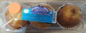 American Classic Blueberry Muffins