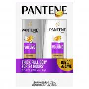 Pantene Sheer Volume Shampoo and Conditioner