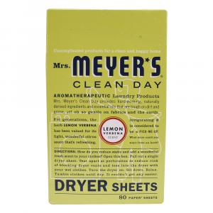 Mrs. Meyer's Dryer Sheets Lemon Verbena