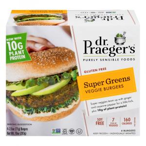 Dr. Praeger's Super Green Veggie Burgers