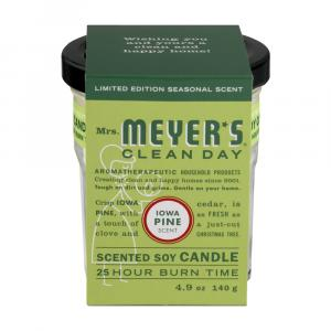 Mrs. Meyers Iowa Pine Candle