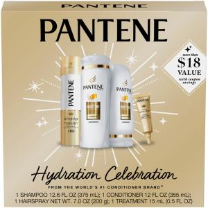 Pantene Holiday Pack Hydration Celebration