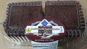 American Classic Mini Chocolate Slices