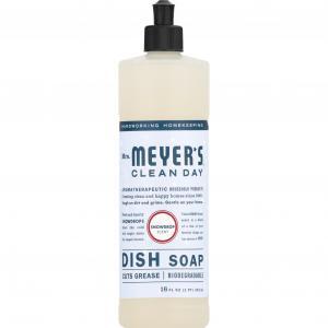 Mrs. Meyer's Clean Day Snowdrop Liquid Dish Soap
