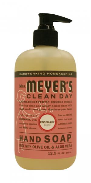 Mrs. Meyer's Rosemary Scented Liquid Hand Soap