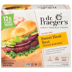 Dr. Praeger's Sweet Heat Beet Veggie Burger