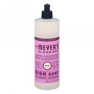 Mrs. Meyer's Clean Day Peony Scent Dish Soap