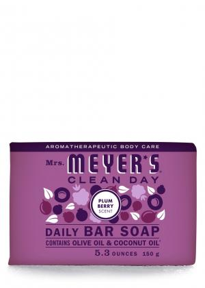 Mrs. Meyer's Plum Berry Bar Soap