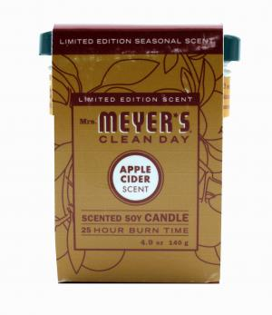 Mrs. Meyers Apple Cider Candle