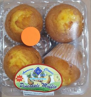 American Classic Pineapple Muffins