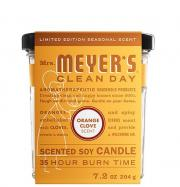 Mrs. Meyer's Orange Clove Scented Soy Candle