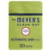 Mrs. Meyer's Lemon Verbena Automatic Dish Packs