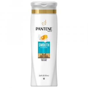 Pantene 2in1 Medium-Thick Frizzy to Smooth Shampoo
