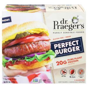 Dr. Praeger's Pure Plant Protein Perfect Burger