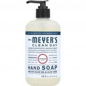 Mrs. Meyer's Clean Day Hand Soap Snowdrops