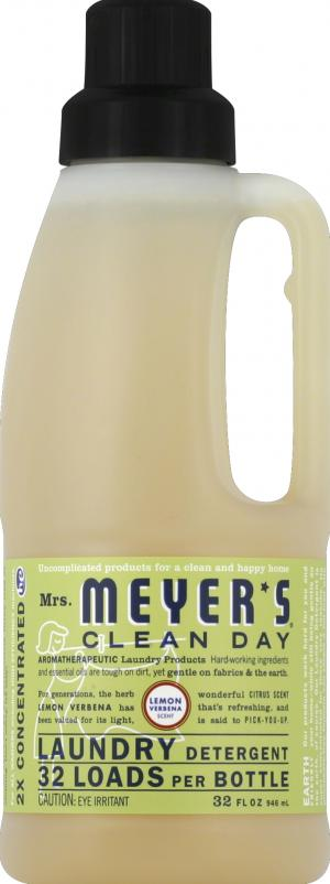 Mrs. Meyer's Clean Day Lemon Verbena Laundry Detergent